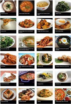 A nice round-up of Korean food dishes to try. www.AsianSkincare.Rocks