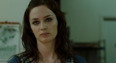 Emily Blunt in Sunshine Cleaning. Here she plays the screwed up sister who burns down a house while cleaning it.