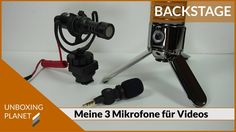 Equipment - meine 3 genutzten Mikrofone für die Videoproduktion #equipment #mikrofone #videoproduktion