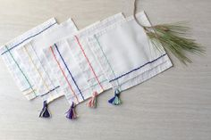 on my honor...: DIY: Cocktail Napkins