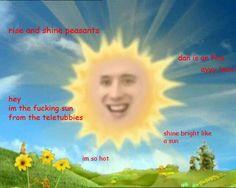 dan sun from teletubbies - Google Search