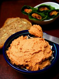 Patê de tomate seco com amêndoa e semente de girassol