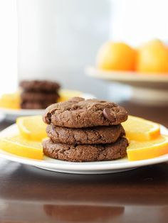 Double Chocolate Orange Cookies Recipe with Fair Trade, Organic, Dairy ...