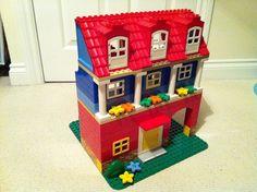 Lego Duplo House by Ravnut, via Flickr
