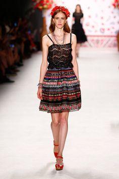 Lena Hoschek | SS16 | Spring Summer 2016 fashion week Berlin | global boho style