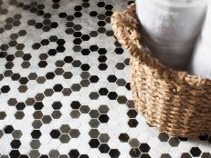 Flooring That Stands Up to Bathroom Wear | Bathroom Ideas & Designs | HGTV