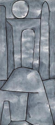 A Gate  - Paul Klee, 1938