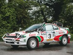 The Rally Blog - safari spec GT4 Celica
