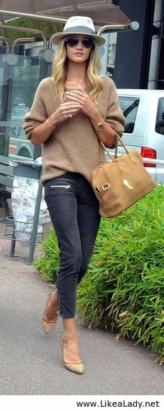 Casual cool in camel