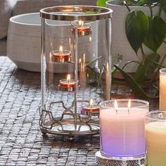 Geo Link Hurricane. Mix it up. Combine a chic design with a Signature fragrance that flaunts your unique style. PartyLite Summer 2017