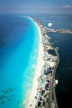 Cancun, Mexico - crystal clear waters and white sandy beaches. Best Beaches In Mexico, Beaches In The World, Places Around The World, Travel Around The World, Vacation Places, Dream Vacations, Vacation Spots, Places To Travel, Maui Vacation
