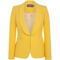 Bourne Nicole Jacket in Yellow ($240) ❤ liked on Polyvore