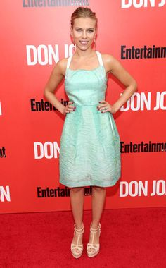 Pastel Pretty from Scarlett Johansson's Best Looks | E! Online