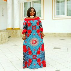 Unleash Your Style In These Jaw-Dropping Ankara Styles - Wedding Digest Naija Long African Dresses, Latest African Fashion Dresses, African Print Dresses, African Print Fashion, Africa Fashion, African Clothes, Ankara Fashion, Long Dresses, Skirt Fashion