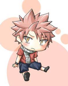 Fairy Tail. Chibi Natsu.