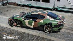 Maserati Granturismo Camo