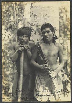 Índios Botocudos: foto 14. Garbe, Walter. 1909. Brasil. Botocudo Indians Indians of South America - Brazil