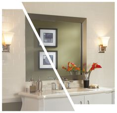 Broadway Brushed Chrome    mirrormate.com