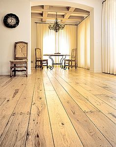 Antique Wood Floor Idea