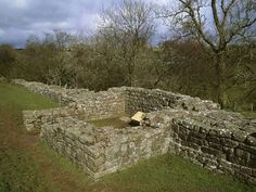 This turret at Willowford is one of the best-preserved on the whole of Hadrians Wall English Heritage, Roman Empire, World Heritage Sites, Stepping Stones, Golf Courses, Hadrian's Wall, History, Places, Garden