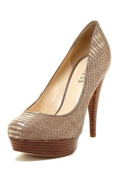 Adriena Platform Pump by Guess - just bought these a few weeks ago in the states! :)