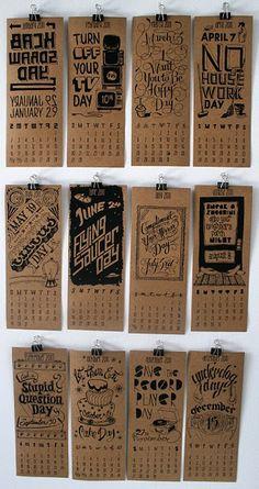 silly days calendar