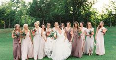 When it came time for this Southern bride to style her 12 bridesmaids, she turned to Joanna Augustfor a mix-and-match look that's completely on point. A dusty pink and mauve combo made for aunique yet cohesive palette and there's so much more to see in The Vault from Jessica Gold Photography. From Jessica Gold Photography…Diane […]