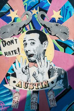 Awesome graffiti found on South Congress in Austin, Texas. Love this area of town - so quirky!