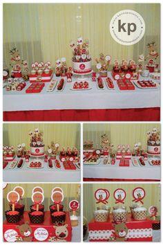 Tema superman mesa de dulces cumple infantil mesas - Mesas dulces de navidad ...