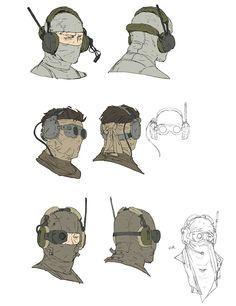 Headwear - Characters & Art - Metal Gear Online