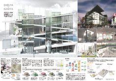 ヒューリック 学生アイデアコンペの公式サイトです。表参道を代表する建築―この場所が通ってきた時代やここに集う人々を象徴する建築―「THE 表参道」を提案してください。