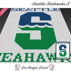 Seattle Seahawks S C2C Crochet Graph   Craftsy
