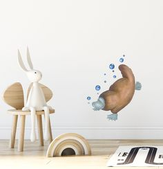 A unique and exclusive range of Australian wall stickers. Created from a hand-painted original artwork of animals and birds by Lesley Davis. Wall Stickers Unique, Wall Stickers Animals, Nursery Wall Stickers, Nursery Wall Art, Nursery Decor, Australian Nursery, Australian Animals, Printable Fabric, Unique Animals