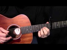 """how to play """"Here Comes the Sun"""" by The Beatles_George Harrison - acoustic guitar lesson - YouTube"""