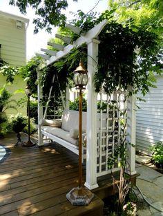 DIY Backyard Pergola Trellis Ideas To Enhance The Outdoor Life (3)