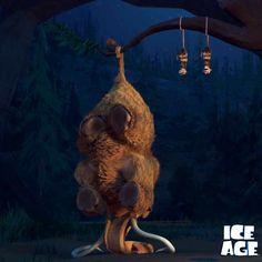 sid from ice age sleeping