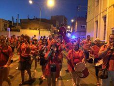#SQVdeFesta La Cercavila pels carrers de #SQV cap a la fideuada popular