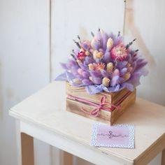 Ароматные кулечки чудесных сухоцветов, которые будут радовать вас очень и очень долго!🌿 Тот самый момент, когда для радости и подарка не… Unique Roses, Bunny Tail, Flower Boxes, Pretty Flowers, Dried Flowers, Flower Designs, Floral Arrangements, Floral Design, Dream Wedding