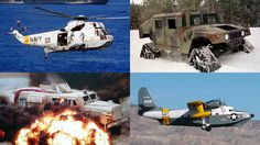7 Repurposed Military Vehicles Hiding Out in Civilian Life