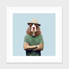 """""""Monsieur Marcel"""", Numbered Edition Fine Art Print by Francesca Miele - From $25.00 - Curioos"""