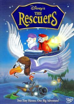 30 Day Disney Challenge: Day 22 underrated movie: The rescuers. I absolutely adore Rufus and Miss Bianca