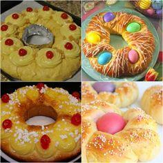 Te traemos la receta de uno de los postres más tradicionales en el mundo: La rosca de pascua, para que compartas con tus amigos Doughnut, Desserts, Food, Floral, Gourmet, World, Home, Bagels, Breakfast