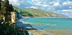 the beaches of sicily