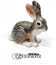 Little Critterz Bounder Jackrabbit Bunny Rabbit Figurine Porcelain Miniature