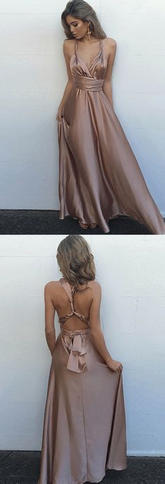 prom dresses 2017, spaghetti strap prom dresses, v-neck prom dresses, long party dresses, high quality evening prom dresses, sexy prom gown, popular prom dresses, satin prom dresses, criss-cross prom dresses, backless prom dresses, modern prom dresses, fashion prom dresses