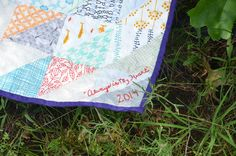 Always in My Heart quilt by Sewfrench