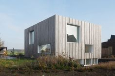 Zero Energy House Lokeren by BLAF Architecten