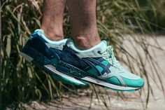 """Asics Welcomes Gel Lyte Speed Collabs With UBIQ's """"Cool Breeze"""" - SneakerNews.com"""