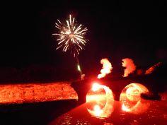 feu d'artifice du 70 ème anniversaire