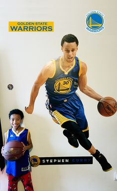 7fb0588211d9 Golden State Warriors Fathead Wall Decals   More